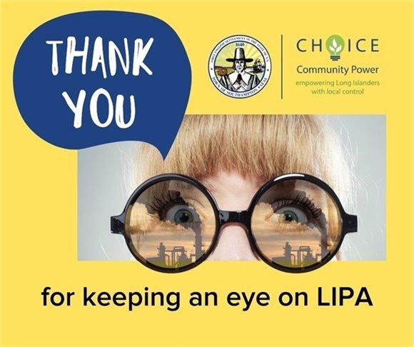 Thank You for keeping an eye on LIPA