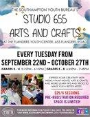 TUES – Studio 655 Arts & Crafts