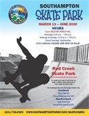 Red Creek Skate Park is Opening for the 2020 Season this Friday, March 13!