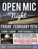 Open Mic Night at Hampton Coffee Company -