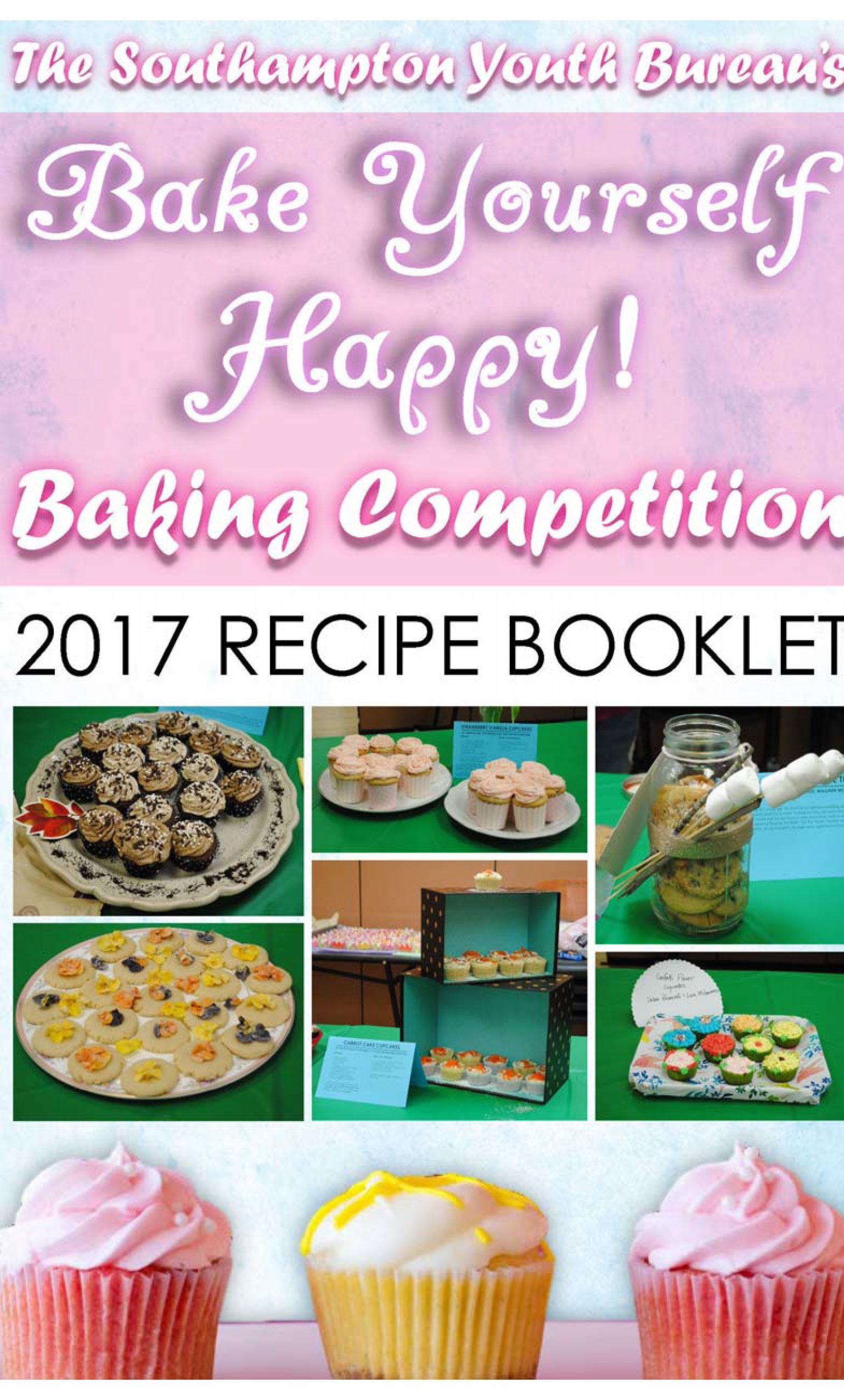 Bake Yourself Happy Recipe Booklet-Cover
