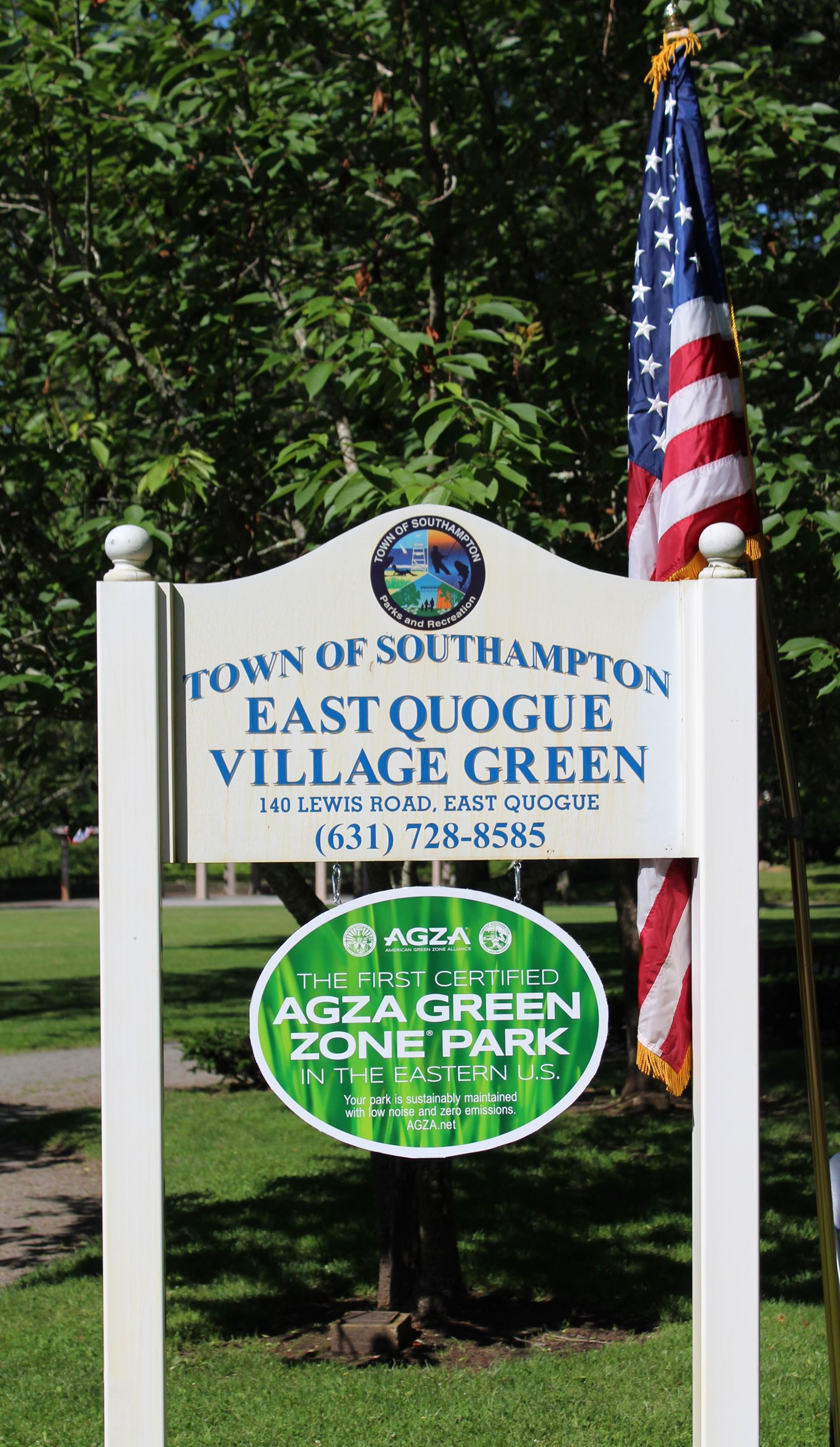 East Quogue Village Green - AGZA Green Zone® Park