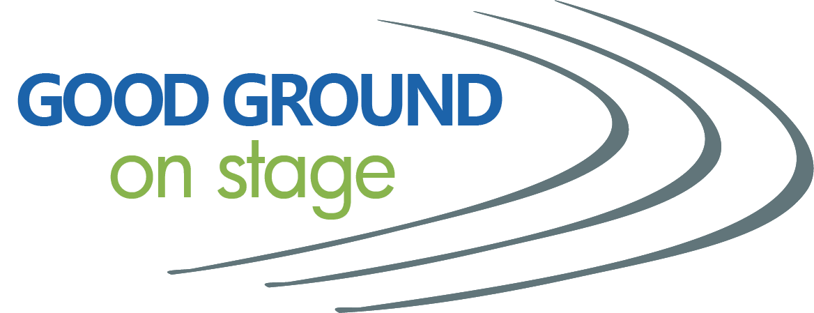 Good Ground On stage logo