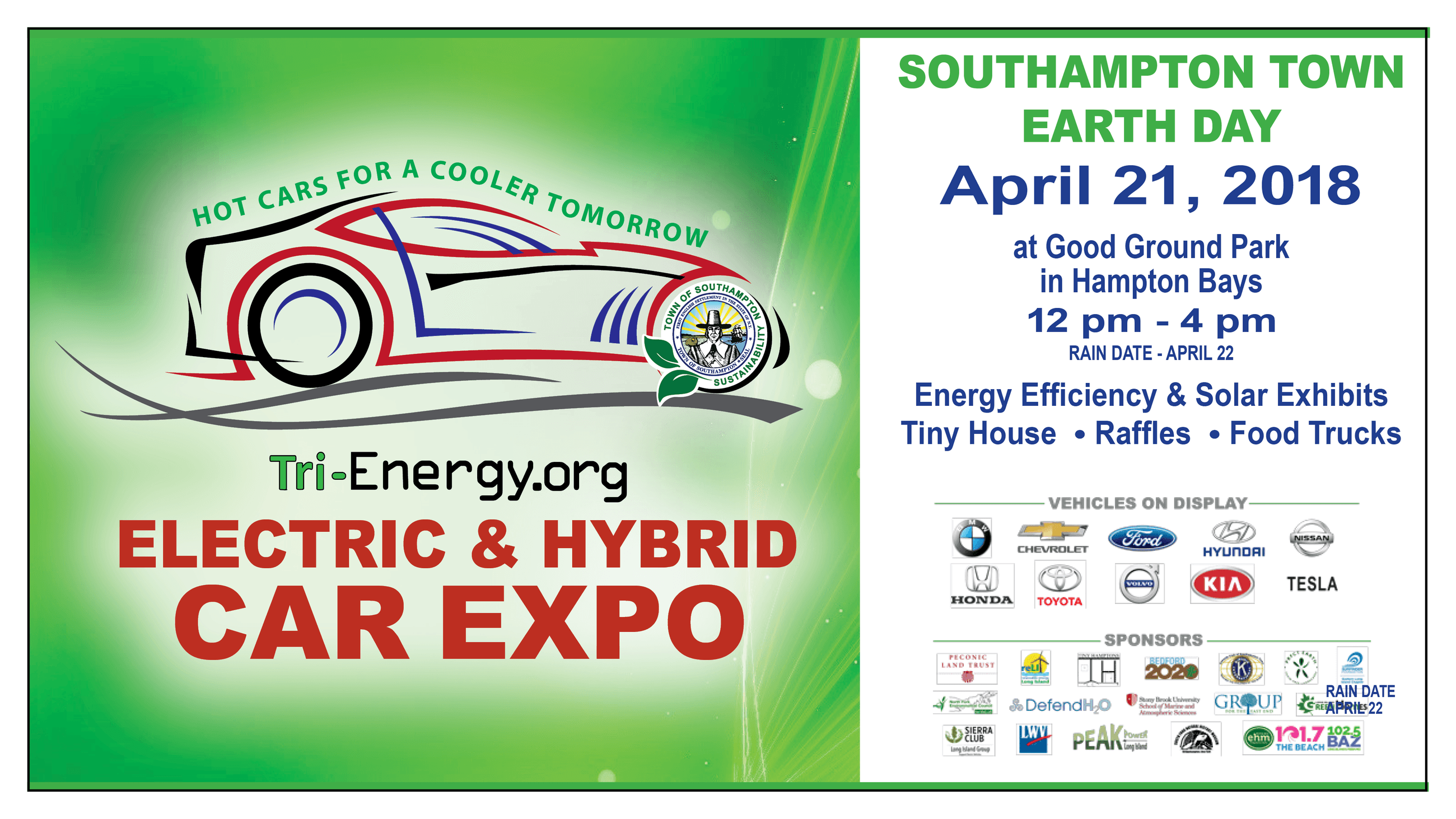 Southampton Town Electric and Hybrid Car Show at Good Ground Park