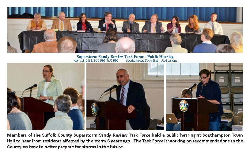 SUPERSTORM SANDY REVIEW TASK FORCE