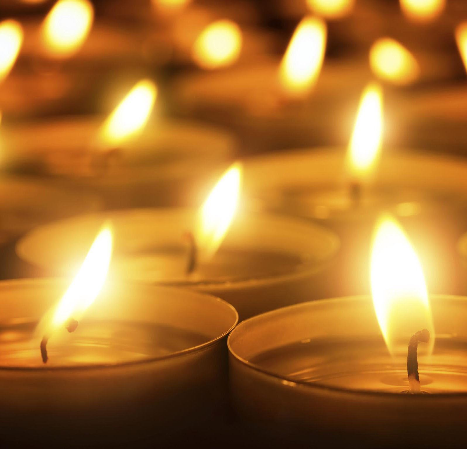 Flicker of Hope candles