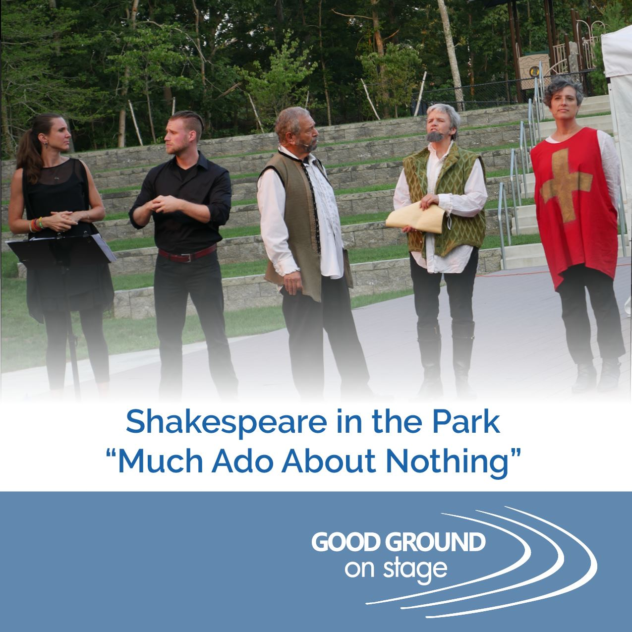 Shakespeare in the Park-spotlight