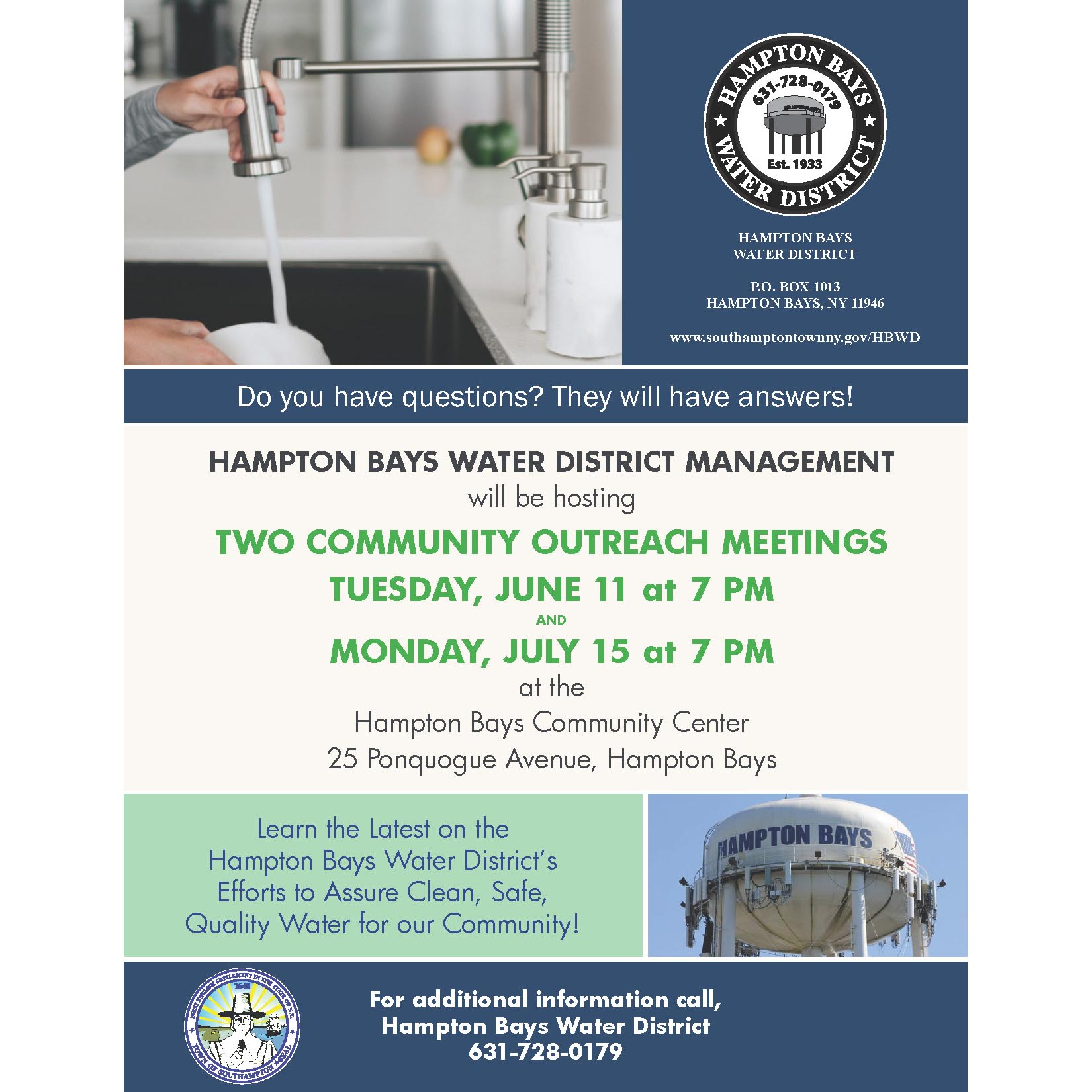 Community Meeting Flyer 1X1
