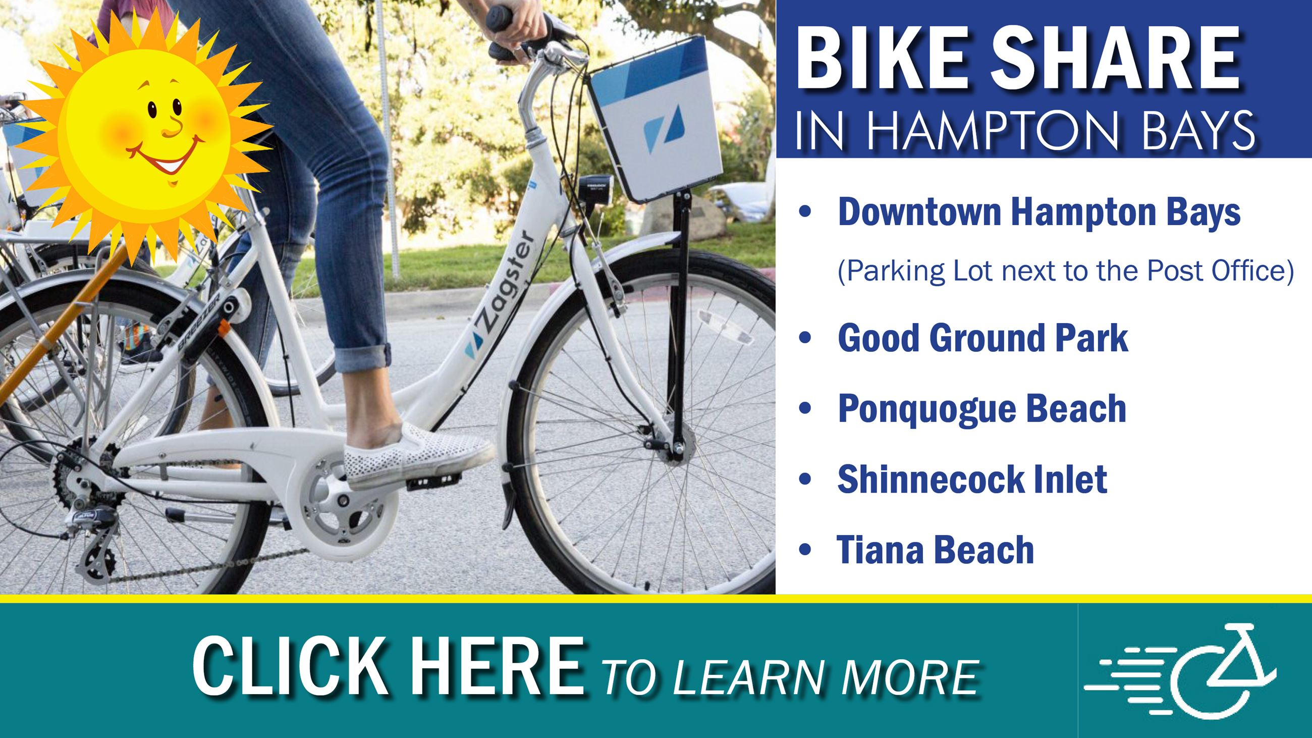 TOS Bike Share - Hampton Bays