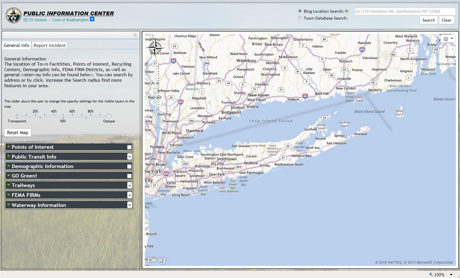 GIS Web Mapping Applications Southampton NY Official Website - Fema firm maps gis