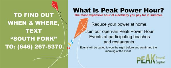 PeakPower Hour Banner