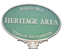 Water Mill Heritage Sign