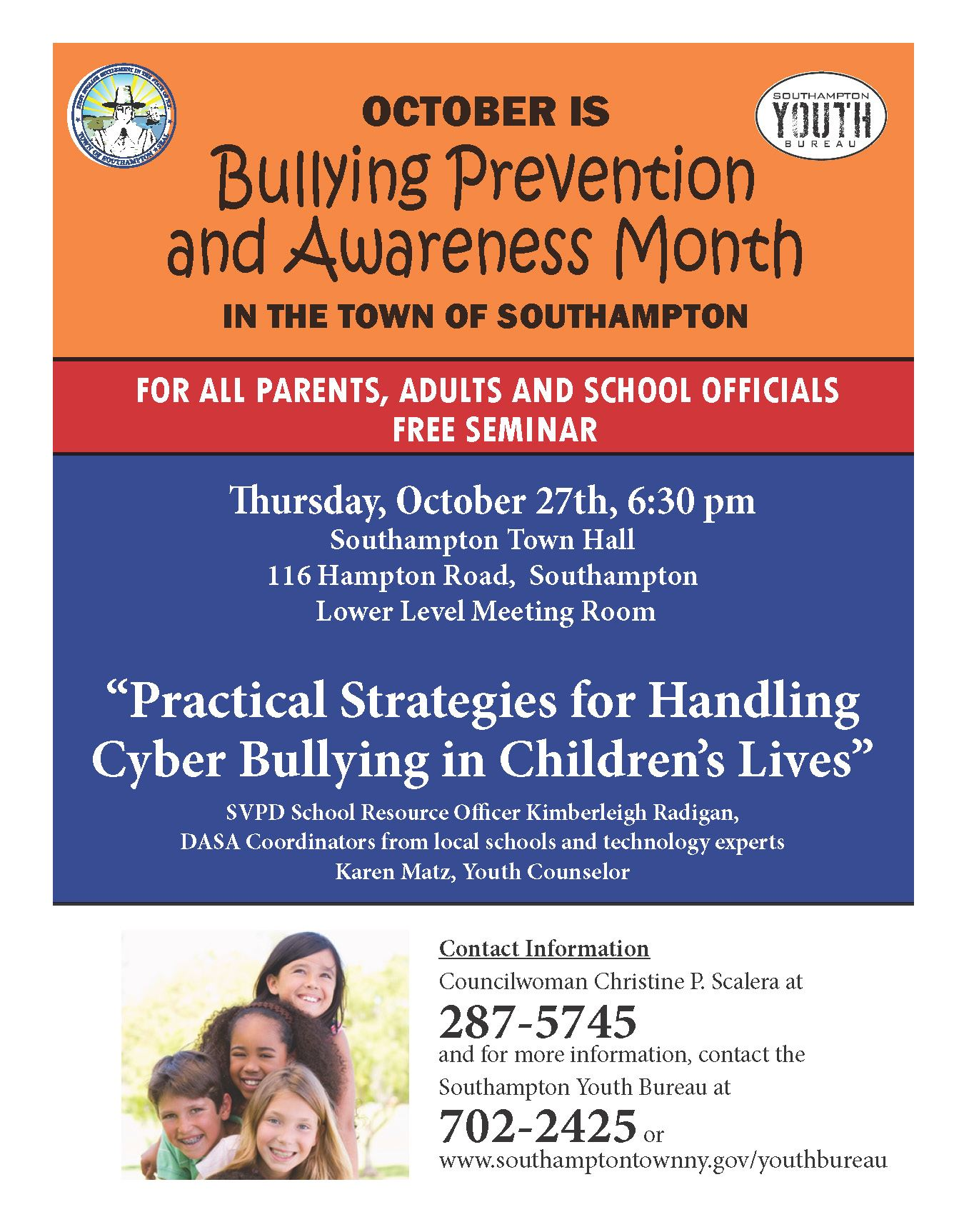 Bullying Flyer 2016 Oct - 27NEWER