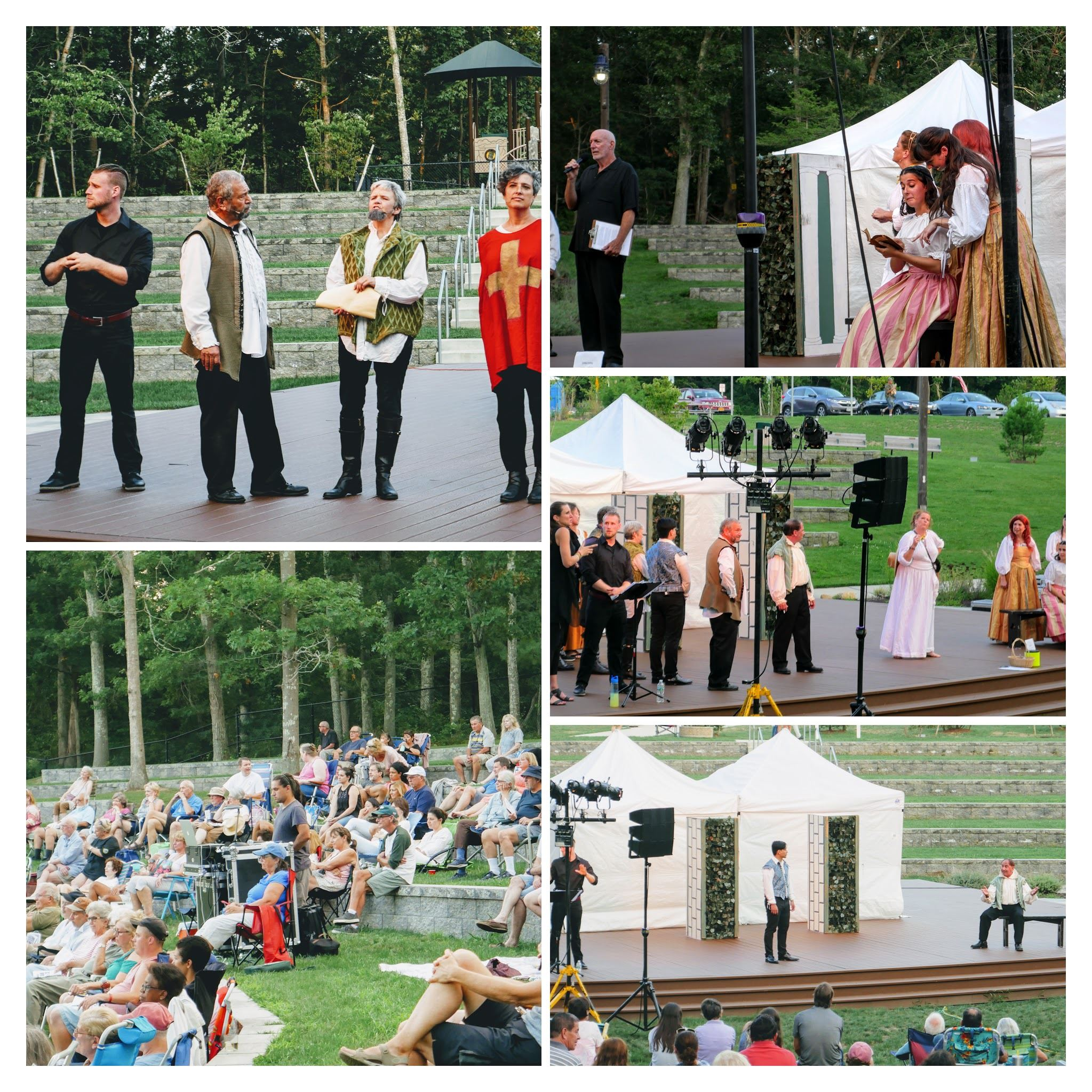 Shakespeare in the Park-COLLAGE