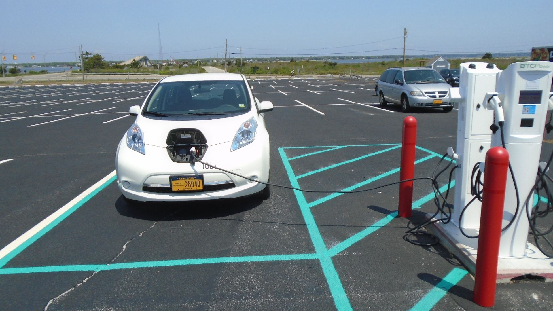 2019 05 30 Ponquogue EV charging station test (2)
