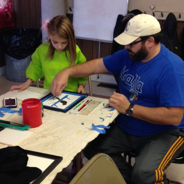 Art Workshops at Squiretown Park, 12/5/15
