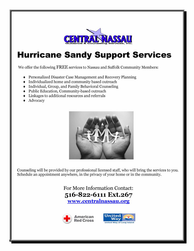 Hurricane Sandy Support